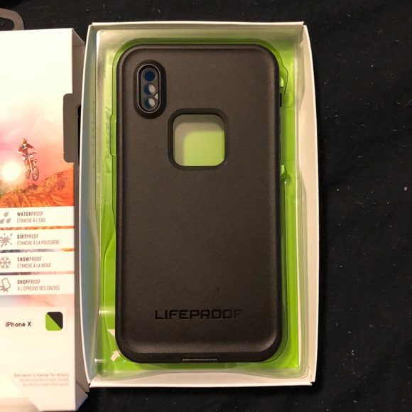 watch 4c03f 55164 iPhone X lifeproof case NWT